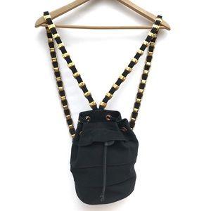 Salvatore Ferragamo Logo Chain Strap Mini Backpack